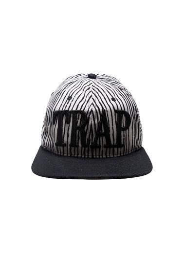 Laslusa TRAP Hip Hop Snapback Şapka Beyaz